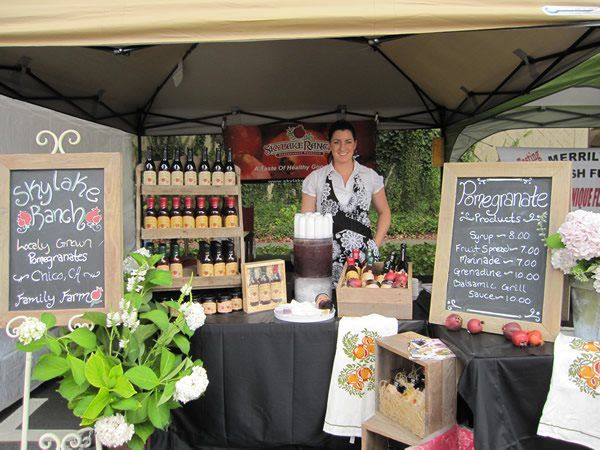 artisan specialty food booths