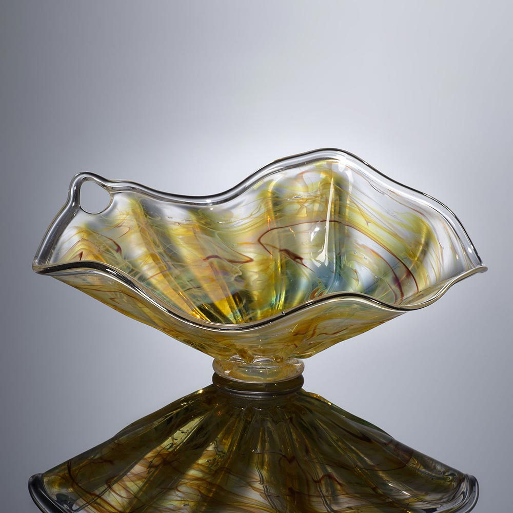 Aaron Bezdek and Penny Tate handblown glass