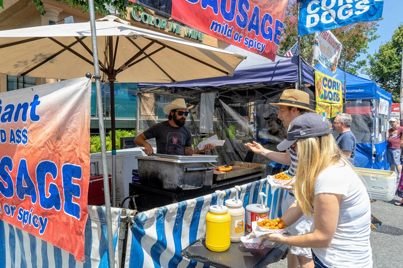 festival fare of many flavors at Menlo Park Summer Fest