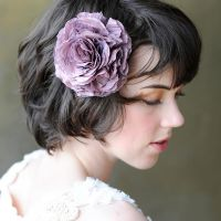 Lydia Choi hair adornments - flower clip