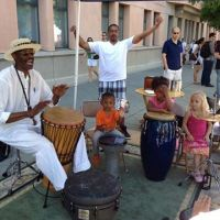 Mike Fair's Drumming Circle